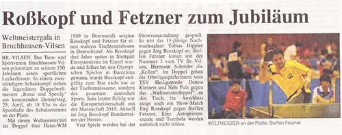 Sonntags-Tip, 21.04.2013